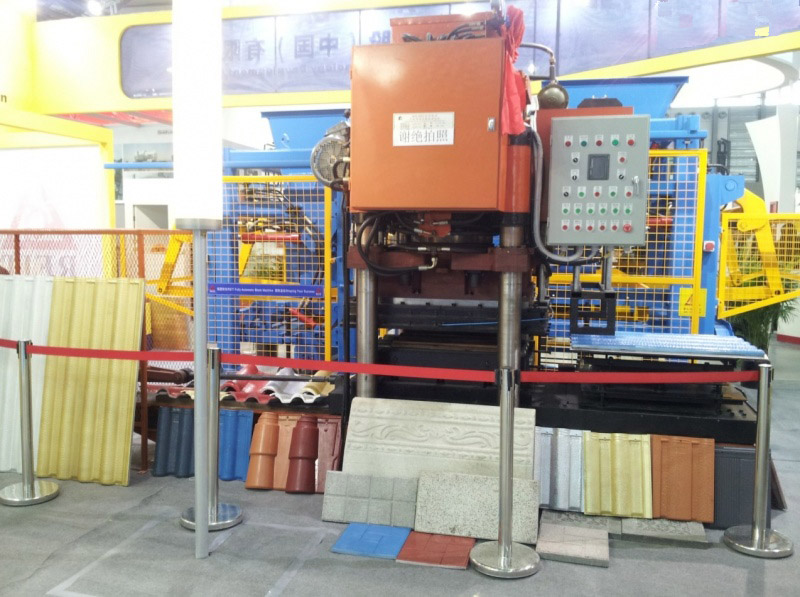 MMRF-1000 roof tile press